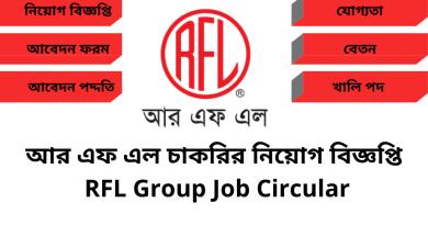 RFL Bd Jobs Circular Today
