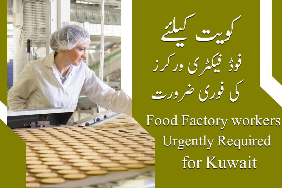 Kuwait food factory workers jobs - Kuwait factory workers jobs