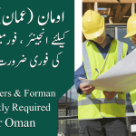 Oman civil engineer and foreman jobs
