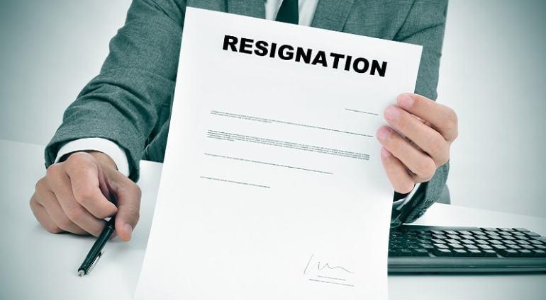 format surat pengunduran diri