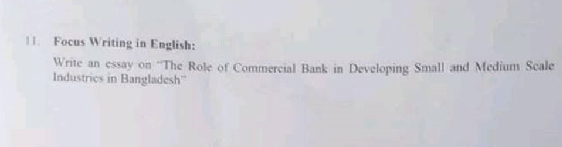 Combined 3 Bank Senior Officer Written Exam Question Solution Result 2018 12