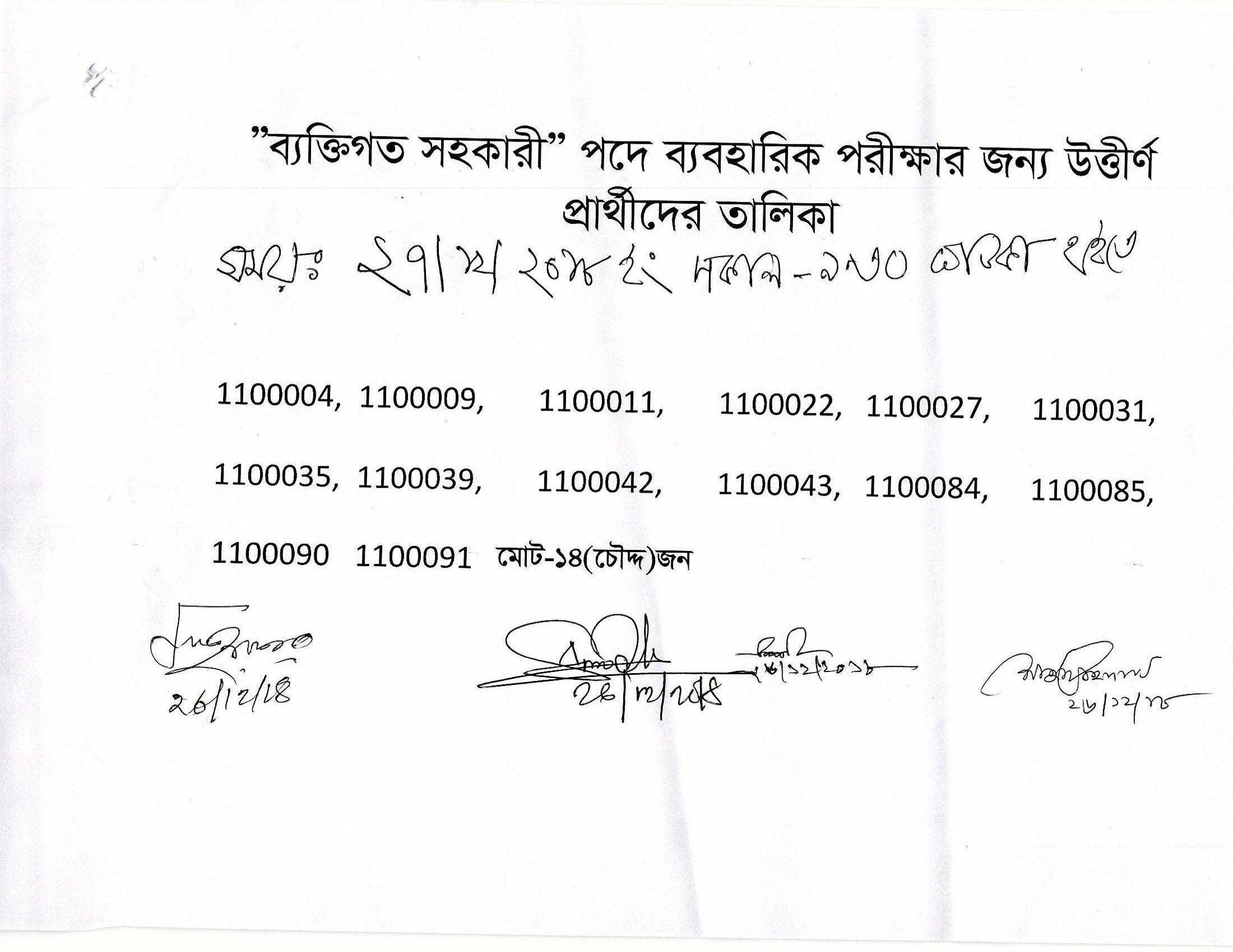 Taxes Zone Gazipur TZG Exam Result Admit Exam Date 2019 1
