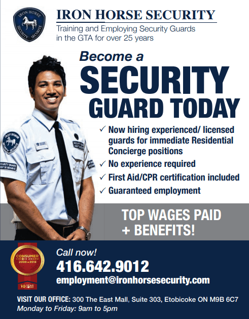 Security guard jobs in Canada