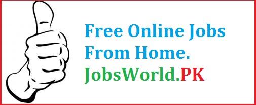 Online jobs from jobsworld pk 2016