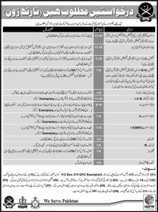P.O Box 374 Jobs 2016 Public Sector Pak Army Latest