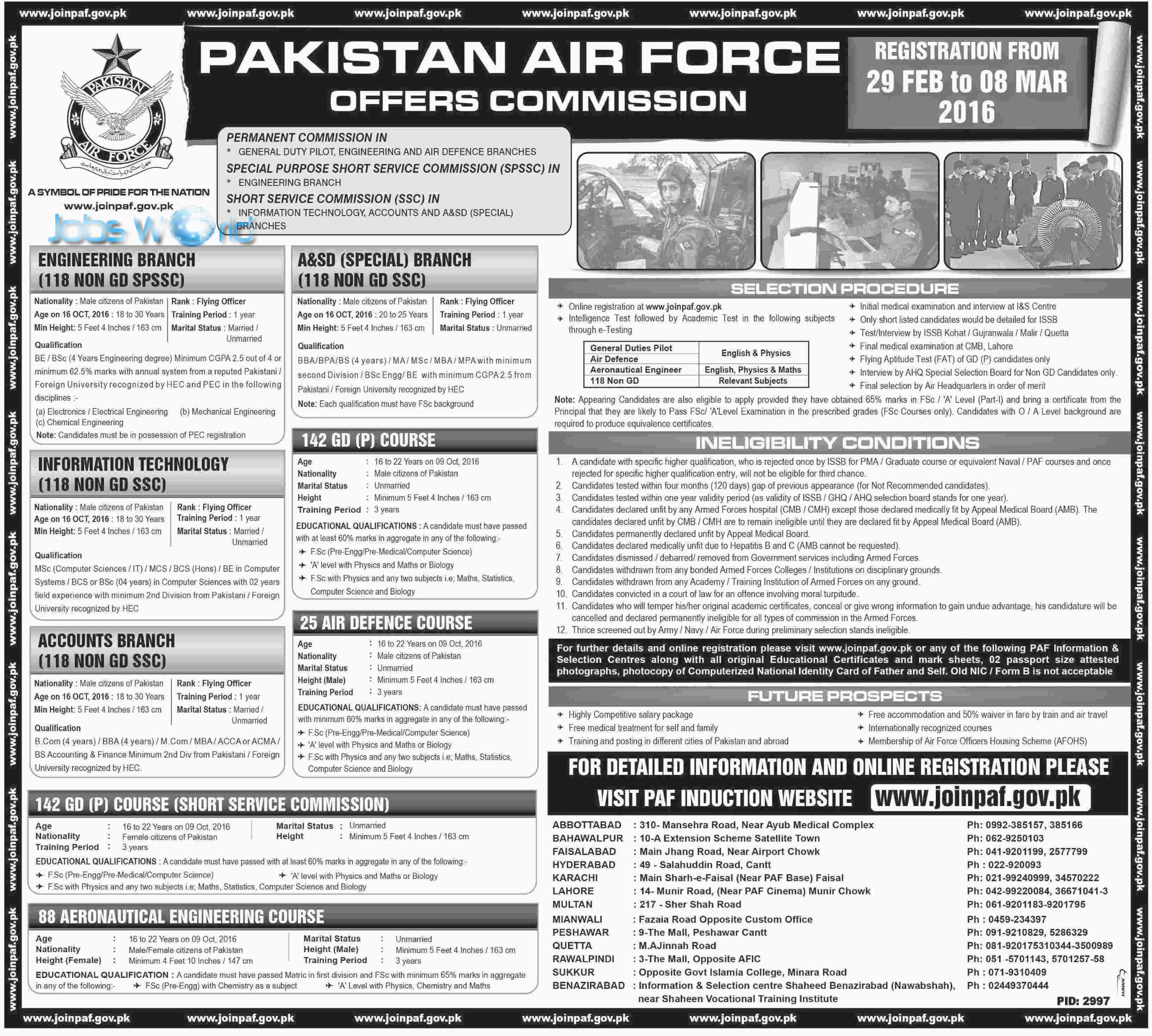 Air force jobs for females