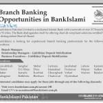 BankIslami Career Opportunities 2016