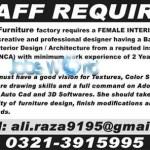 Interior Designer Jobs 2016 in Pakistan