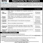 NTS Invigilators Next Procedure For Jobs 2016 (Interviews)