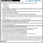 Assistant Education Officer (AEOs) SSE Jobs 2016