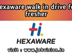 Hexaware Walk-in Drive