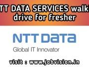 NTT Data Hiring Freshers