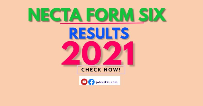 Form Six Results 2021, NECTA Results 2021, Matokeo Form Six 2021 NECTA, Matokeo ya Form Six 2021, and Matokeo ya Form Six 2021 NECTA.