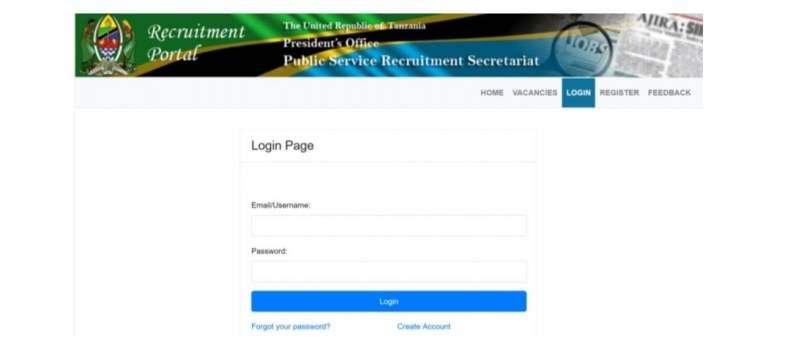 How to register in Ajira portal – kujisajili na Ajira Portal – Ajira Portal Login
