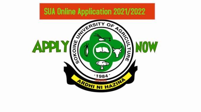 Sokoine University (SUA) Online Application, sua postgraduate online application, sua registration form, sua admission 2020/2021, sua admission login.