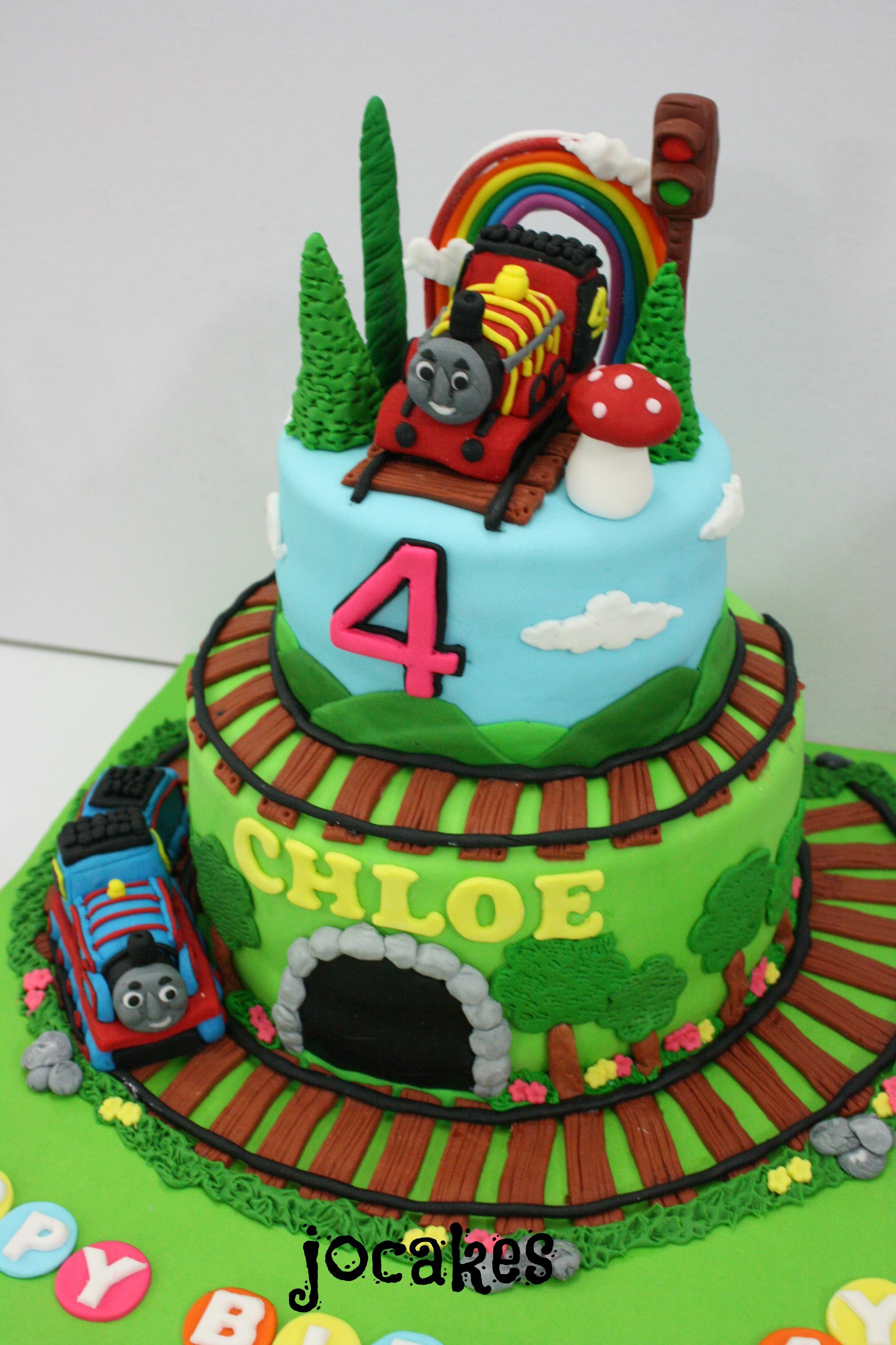 Thomas The Train Cake For Chloe Law Jocakes
