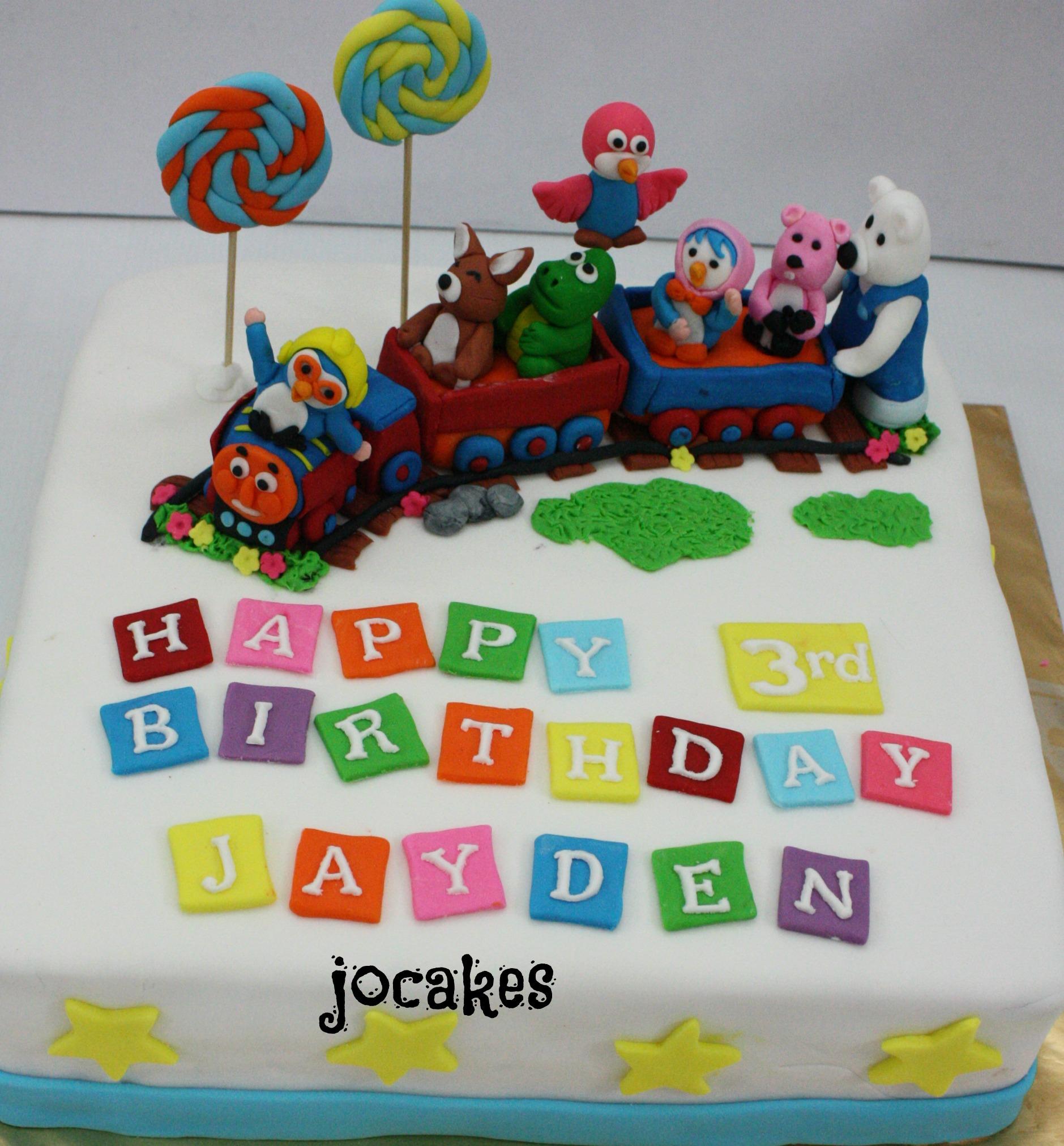 Pororo And Friends Cake Jocakes