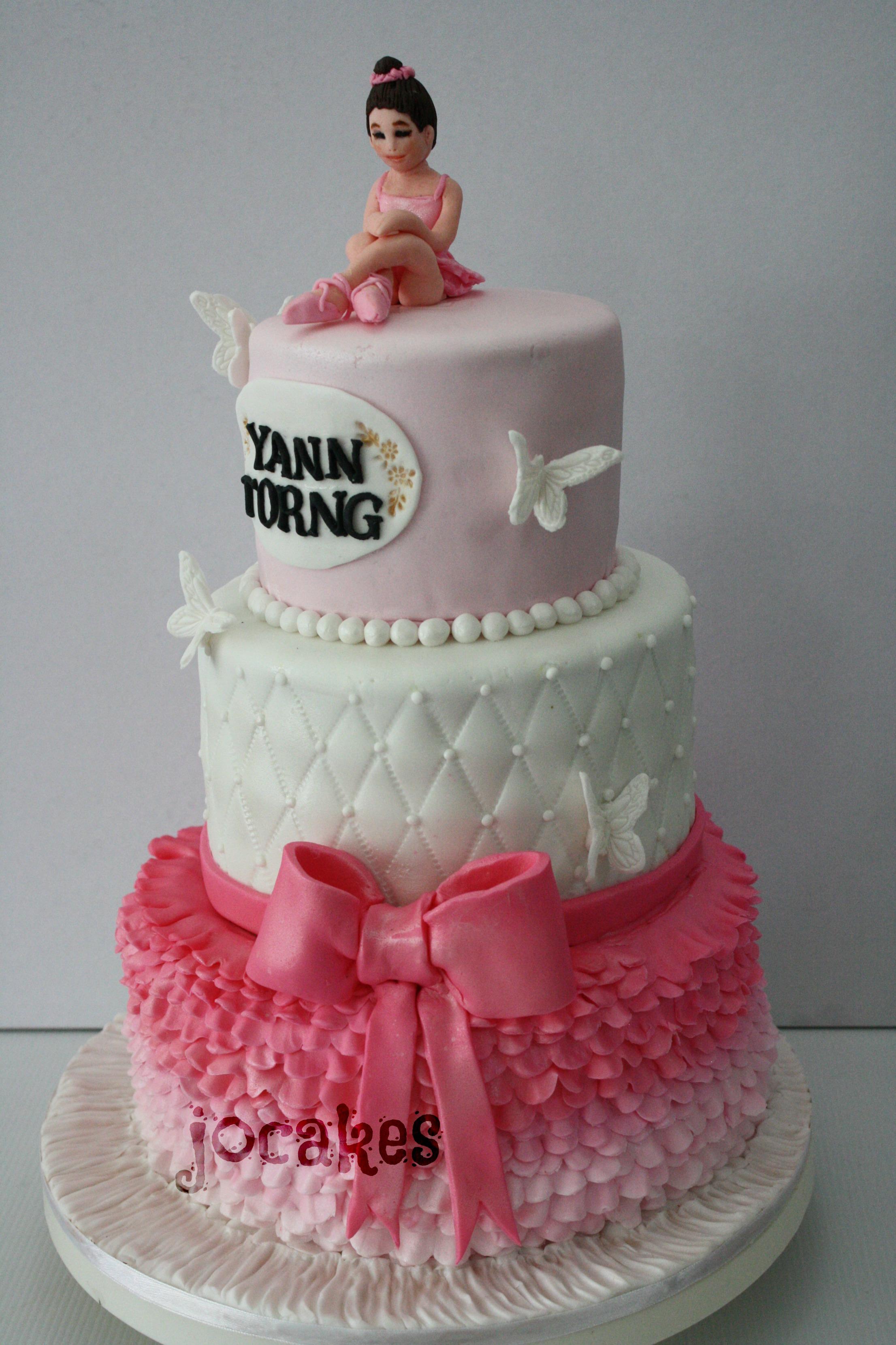 Ballerina Cake Jocakes