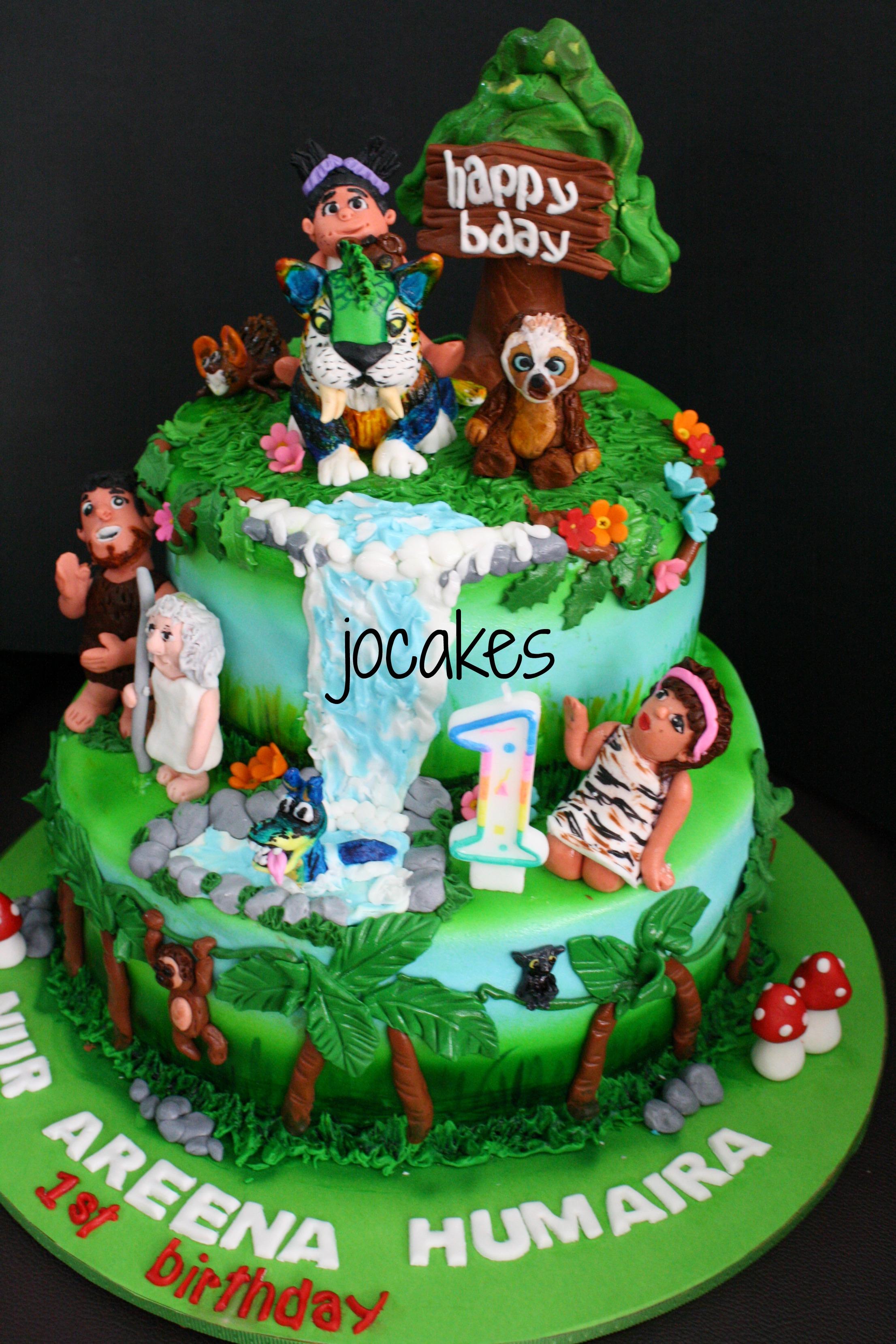 The Croods Cake Jocakes