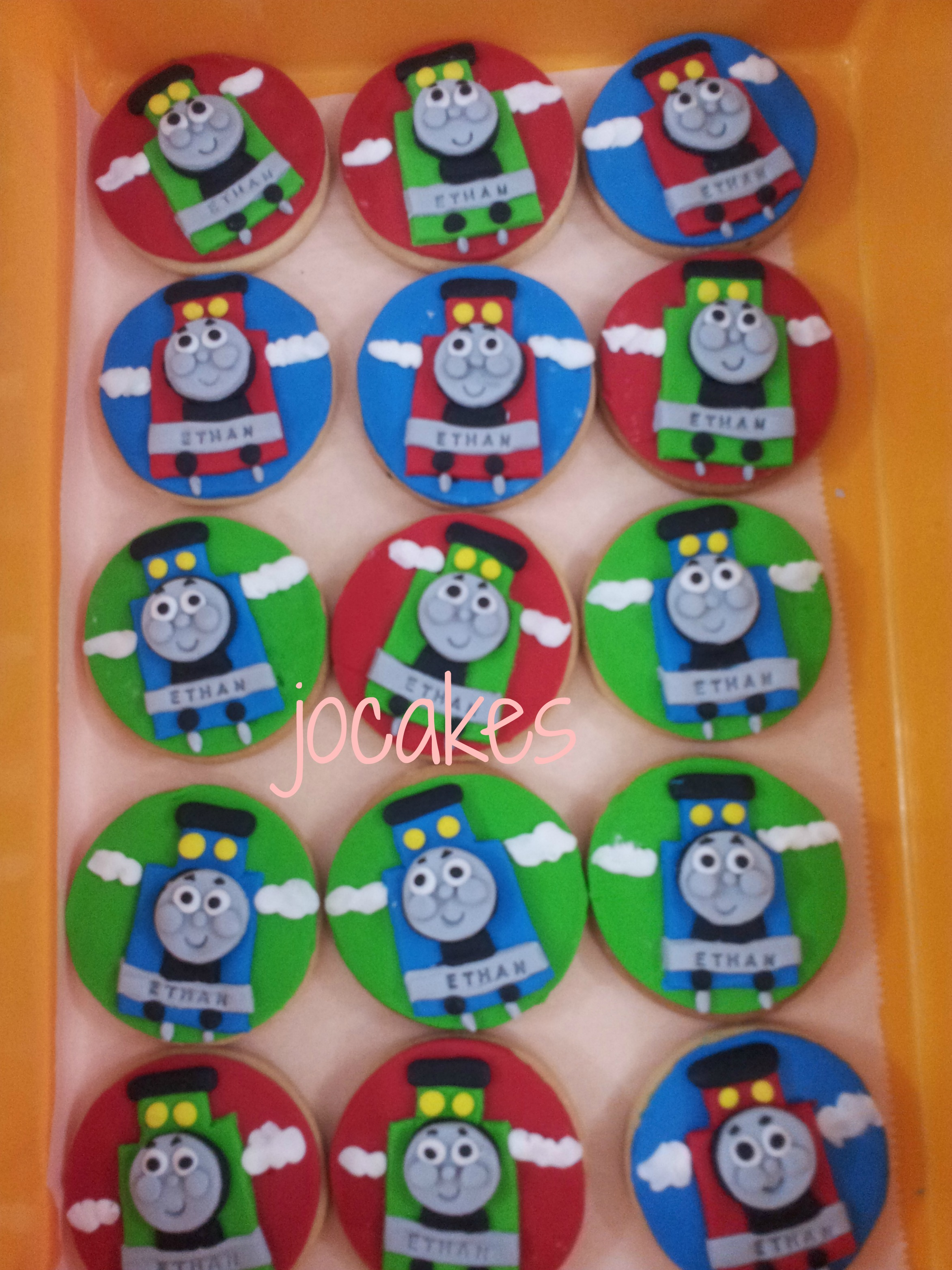 Thomas The Train Cookies Jocakes