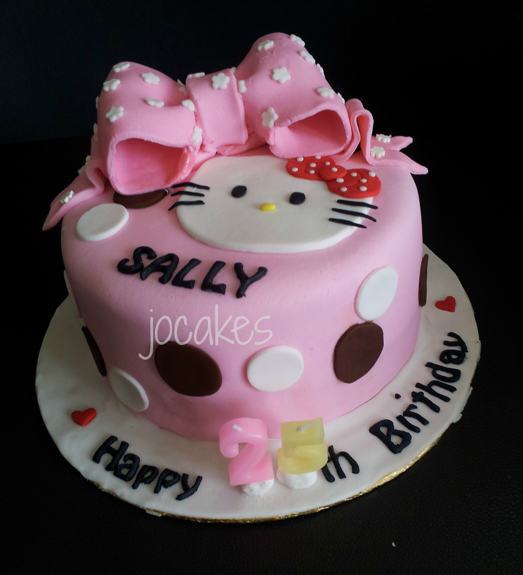 Hello Kitty Cake For Sally Jocakes