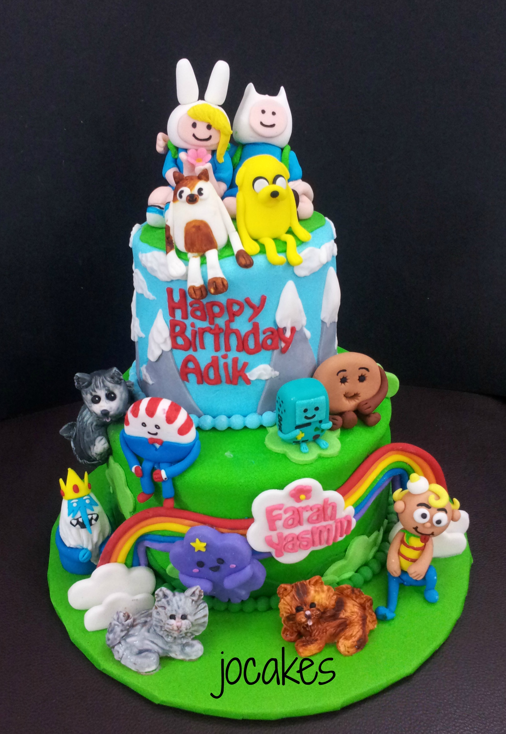 Adventure Time Cake Jocakes