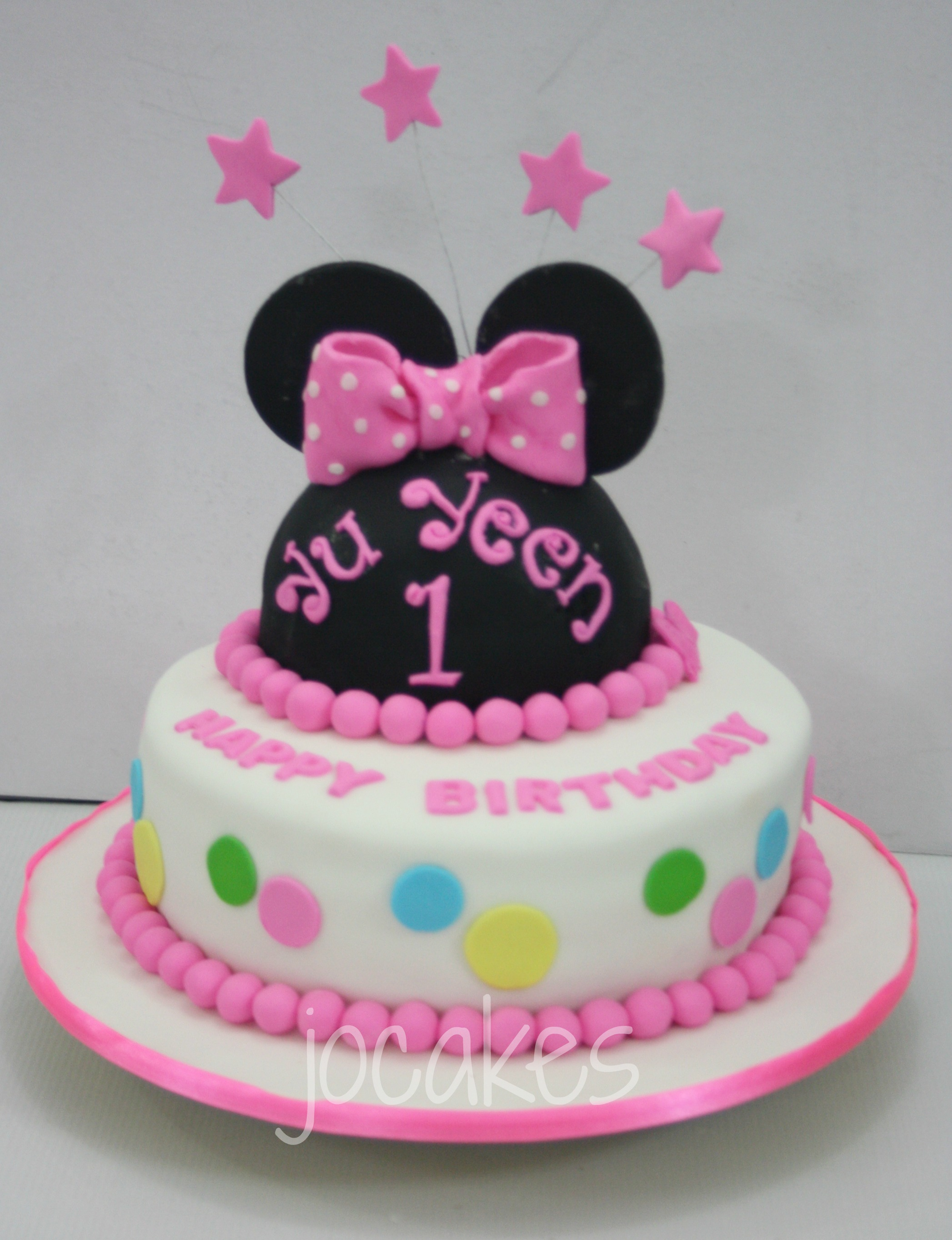 Childrens Cake 1 Year Old Cake Jocakes