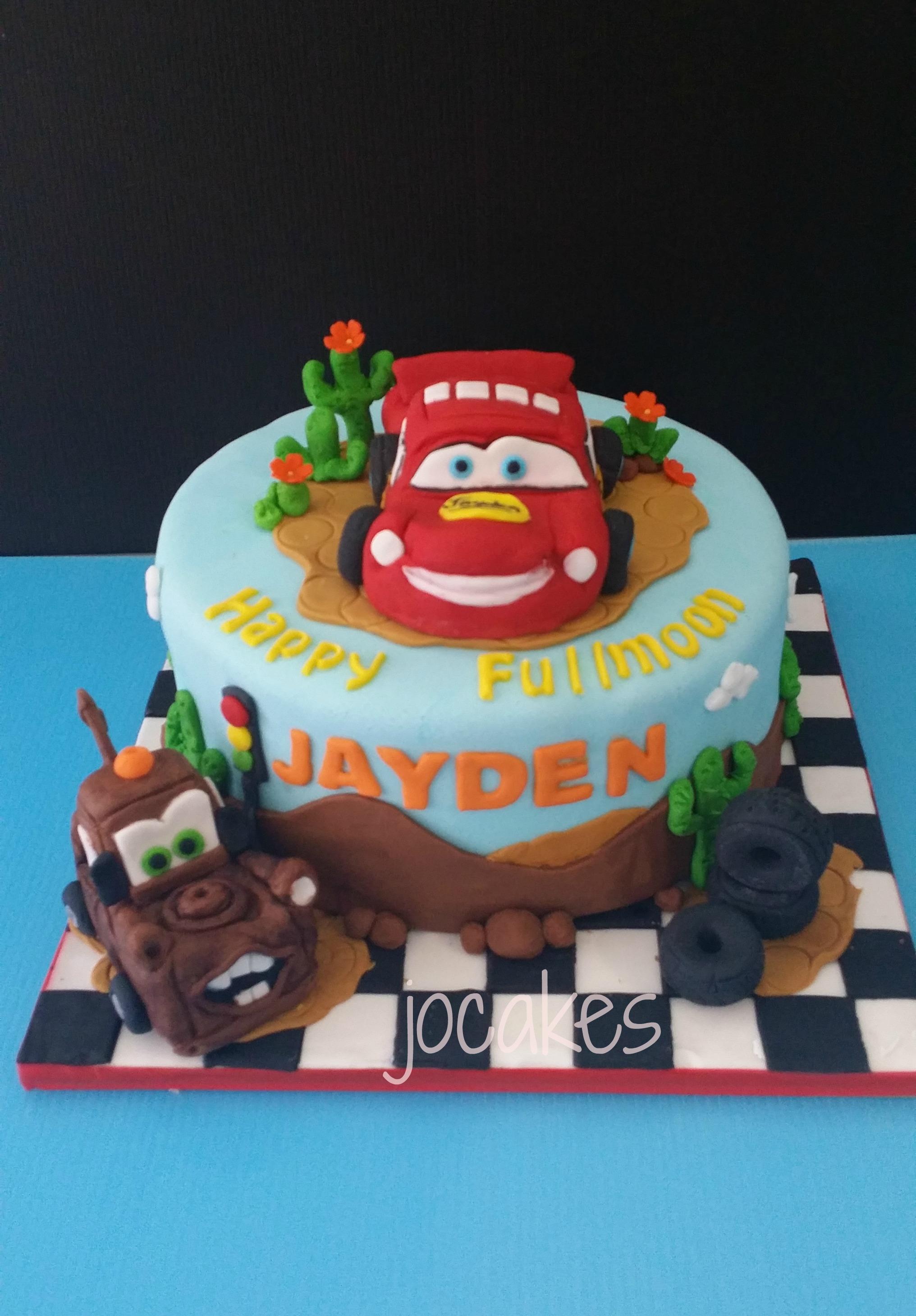 Cars Cake Jocakes