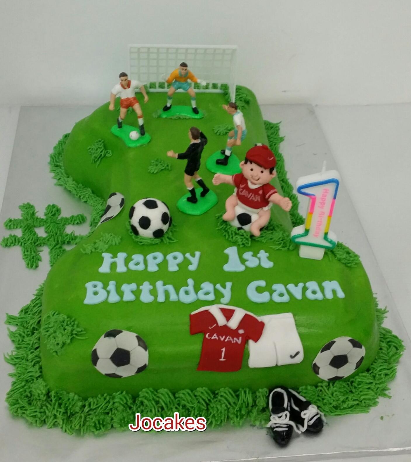 Football Themed Cake Cupcakes Jocakes