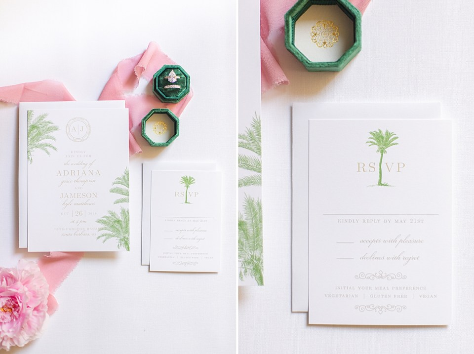 A pink peony and bridal shower brunch invitations