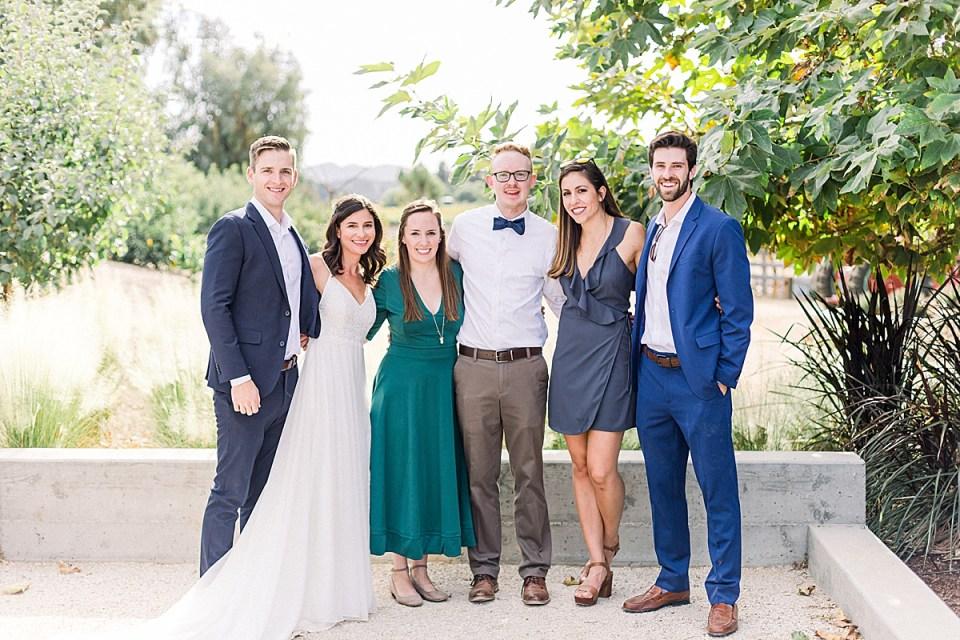Jocelyn & Spencer posed with their J&S couples. Lauren & Scott, Kat & Brett.