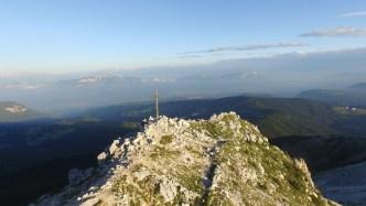 Der Gipfel des Weißhorn