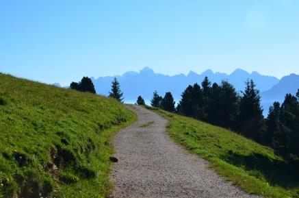 Passegiando al Passo Oclini