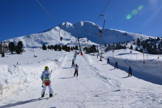 The Skilift and the Corno Nero