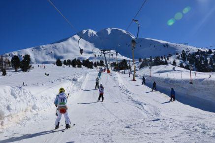 Der Skilift am Schwarzhorn