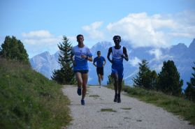 Allenamento in quota, Dolomiti