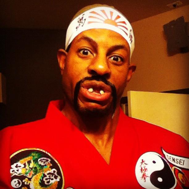 Your Favorite Jocks Celebrate Halloween Gilbert Arenas
