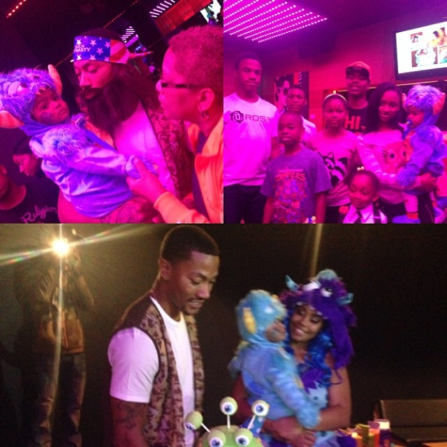 Birthdays  Baby showers LeBron James jr  Derrick Rose