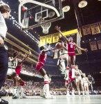 Vintage Celtics vs. Sixers. (via iamcausewaystreet)