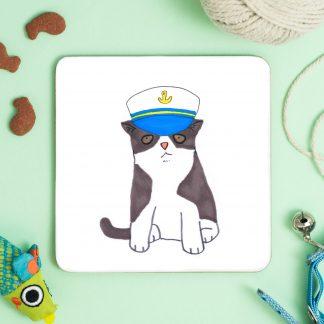 cat in fruity hat