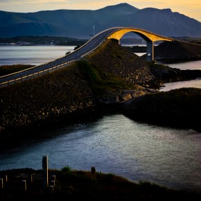 Atlantic sea road - (c) Johan Conradson