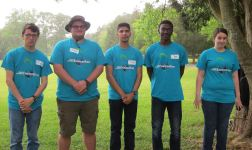 """Placing in the top ten out of over 50 teams across the state, West Johnston's Envirothon Team called """"The Fourth Phase"""" consisted of Dylan Reaves, Michael Pettruny, Chris Lerma, Zachary Taylor and Lindsay Barnes."""