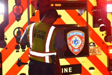 Fire - Oakdale Ave, Clayton 09-11-17-4JT