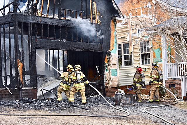 Fire - Sanders Road 03-26-18-2JT