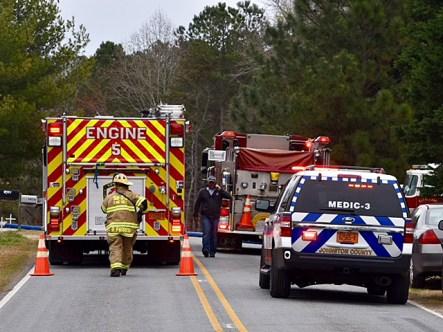 Fire - Sanders Road 03-26-18-6JT