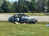 Accident - Brodgen Road, Bakers Chapel Road, 05-02-18-2JT