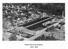 Undated Photo of Clayton Spinning Mill