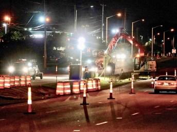 US70 Clayton Construction Work 07-25-18-1JP
