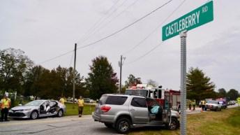 Accident - Covered Bridge, Castleberry Road, 11-05-18-3JP