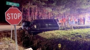 Accident - Swift Creek, Short Journey Road, 12-13-18-1JP